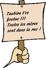 Pancarte Taubira