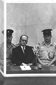 Adolf Eichmann lors de son procès
