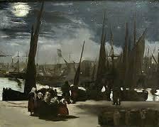 clair de lune Manet