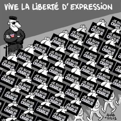 vive la liberté d'expression
